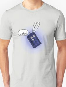Flying Phone Box - N.A.V.I. T-Shirt
