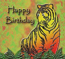 Happy Birthday Tiger by jkartlife
