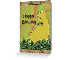 Happy Birthday Lioness Greeting Card