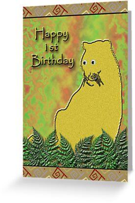Happy 1st Birthday Lioness by jkartlife