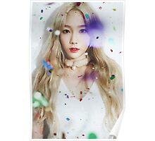 kim taeyeon - dear santa Poster