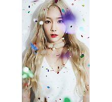 kim taeyeon - dear santa Photographic Print