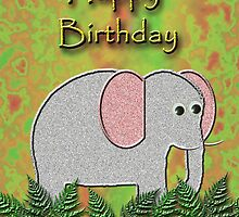 Happy Birthday Elephant by jkartlife