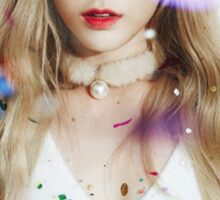 kim taeyeon - dear santa Sticker