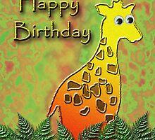 Happy Birthday Giraffe by jkartlife