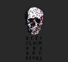 Keep claim and not drugs Skull Graphic (Color) by thejoyker1986
