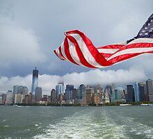 Manhattan overview by Geoffrey Fighiera