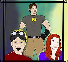 Dr. Horrible Laughs in the Face of Hammer by 1ofthenobodies