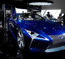 Blue Lexus LF-LC Concept by guinapora