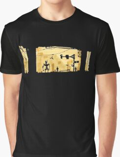 Sunset Cyber Graphic T-Shirt
