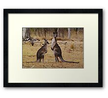 You are Interrupting. Framed Print