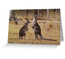 You are Interrupting. Greeting Card