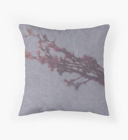 flower of cherry tree Throw Pillow