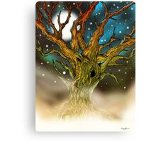 Astral Tree Canvas Print