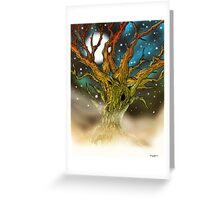 Astral Tree Greeting Card