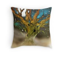Astral Tree Throw Pillow