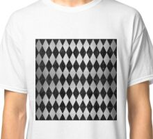 DIA1 BK MARBLE SILVER Classic T-Shirt