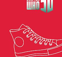 Doctor who converse by lorelei84