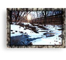 Platte River State Park Canvas Print