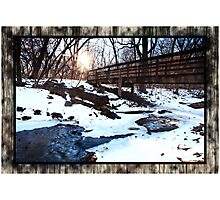 Platte River State Park Photographic Print
