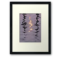 Light and Water - I Framed Print