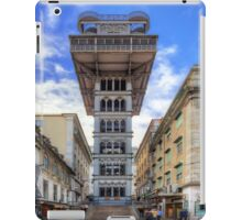 Santa Justa Elevator iPad Case/Skin