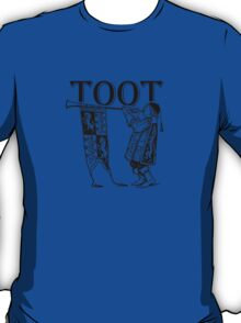 Funky Trumpeter Wanna Give it Some! TOOT! T-Shirt