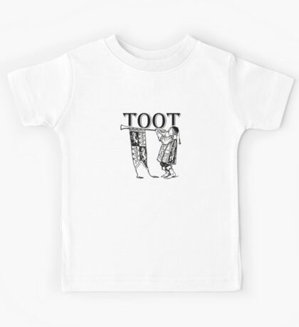 Funky Trumpeter Wanna Give it Some! TOOT! Kids Tee