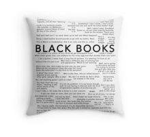 Black Books - Quotes Throw Pillow