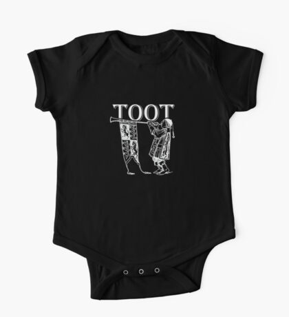 Funky Trumpeter Wanna Give it Some! TOOT! One Piece - Short Sleeve