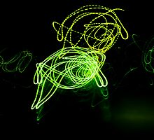 Trails of Green Energy by Zp Visions