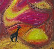 Lonely Giraffe by paulgodley