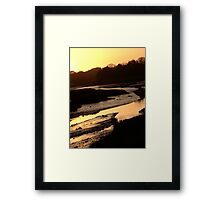 Down By The Water - II Framed Print