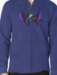 Noivern Pokémon Design Zipped Hoodie