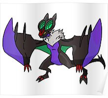 Noivern Pokémon Design Poster