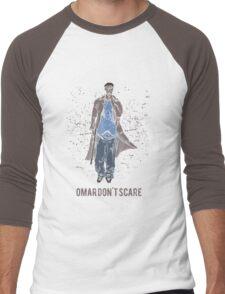Omar Don't Scare Men's Baseball ¾ T-Shirt