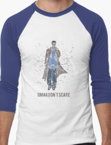 Omar Don't Scare Men's Baseball ¾ T-Shirt