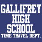 Gallifrey High School - Doctor Who by rexannakay