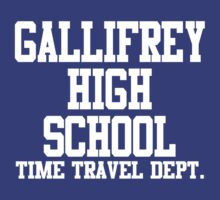 Gallifrey High School - Doctor Who by rexannakay