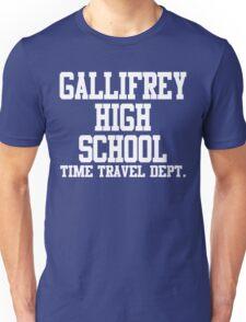 Gallifrey High School - Doctor Who Unisex T-Shirt
