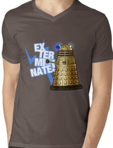 Doctor Who - EX-TER-MIN-ATE! Mens V-Neck T-Shirt