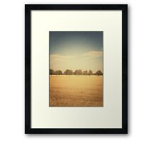 Travelling Memories: Pure Nature in Denmark (Vintage) Framed Print