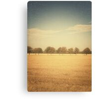 Travelling Memories: Pure Nature in Denmark (Vintage) Canvas Print