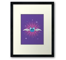 Happy Bat Framed Print