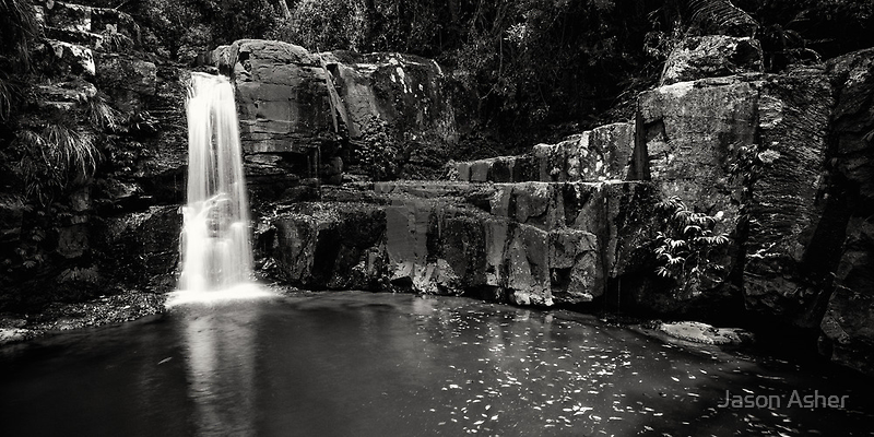 """Bahnamboola Falls"" ∞ Lamington National Park, QLD - Australia by Jason Asher"