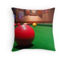 Snooker Throw Pillow