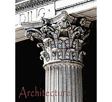 Architecture Photographic Print