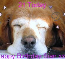 Happy Birthday Sian xx by lynn carter
