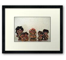 Troll-la-la Framed Print
