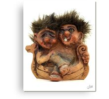 Twin Troll Canvas Print